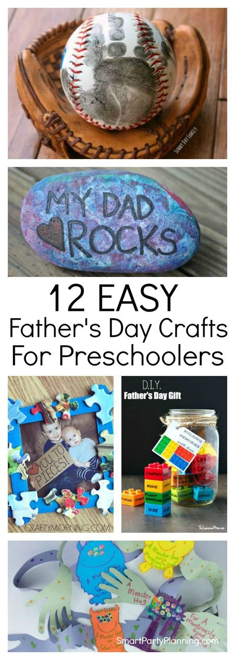 easy day crafts for 12 easy fathers day crafts for preschoolers to make