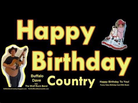 happy birthday country style a country happy birthday to you doovi