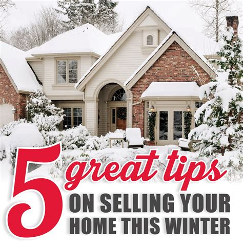 five tips for selling a home in winter shorewest
