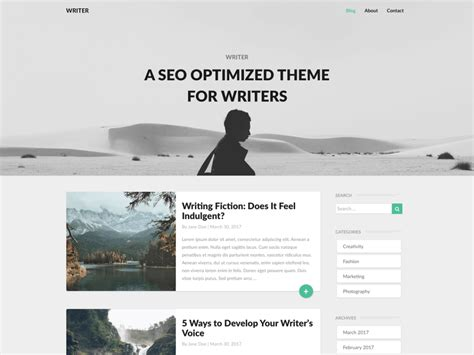 blogger themes for writers theme directory free wordpress themes