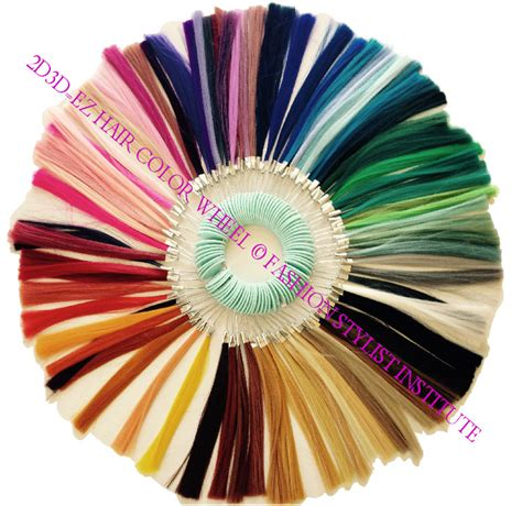 color wheel for hair 2d3d ez hair color wheel hair swatch with guide fashion