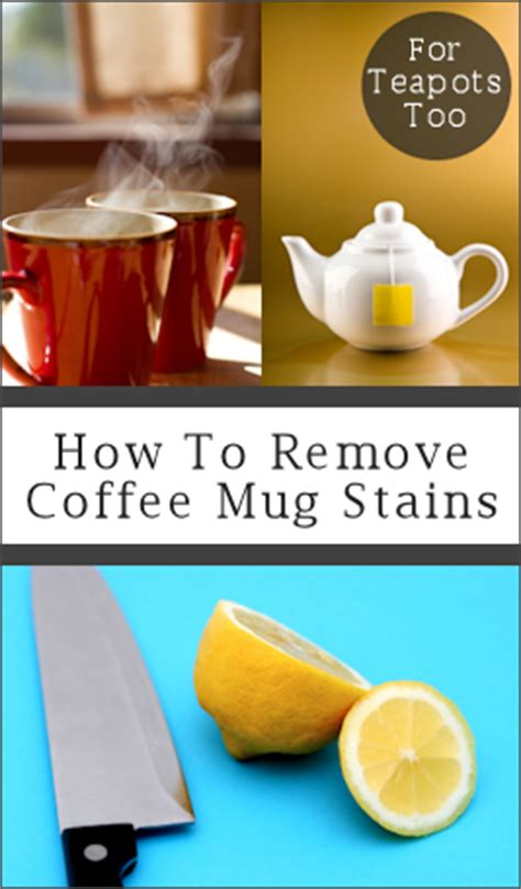 how to remove coffee tea stains from mugs teapots tipnut com