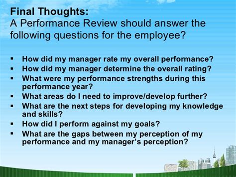 Do I Need An Mba Quiz by Performance Appraisals Hr Ppt Mba