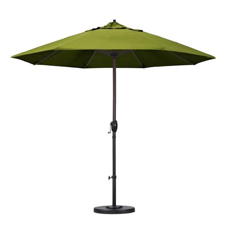 Olefin Patio Umbrella California Umbrella 9 Ft Aluminum Auto Tilt Patio Umbrella In Lemon Olefin Ata908117 F25 The