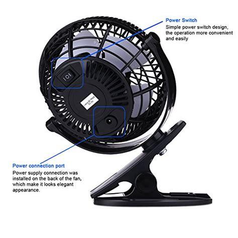 clip on personal fan bomwill clip on fan usb tilt adjustable electric personal