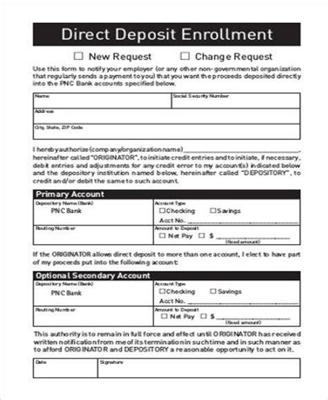 Mba Direct Deposit by Enrollment Form Medicare Enrollment Form And Glasses