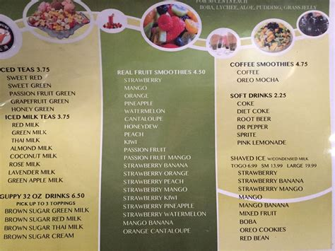guppy house menu guppy house now serving massive shaved ice and asian fusion bites in glendale eater la