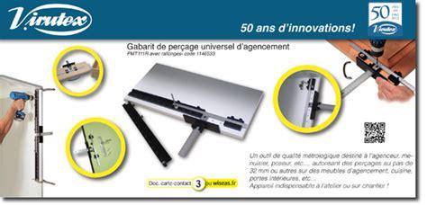 Gabarit De Perçage 3227 by Virutex Gabarit De Per 231 Age Pour Menuisiers Et Agenceurs