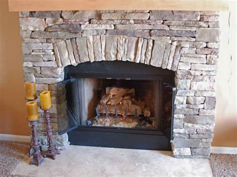 Decorative Stones For Fireplace by Amazing Style Of The Fireplace Stones Decorative With