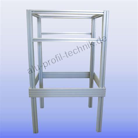 item gestell aluprofiltechnik anwendungsbeispiel aluprofil aluminium