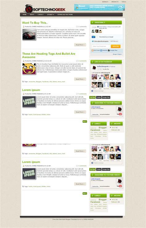 free seo optimized template green magazine seo optimized premium template for