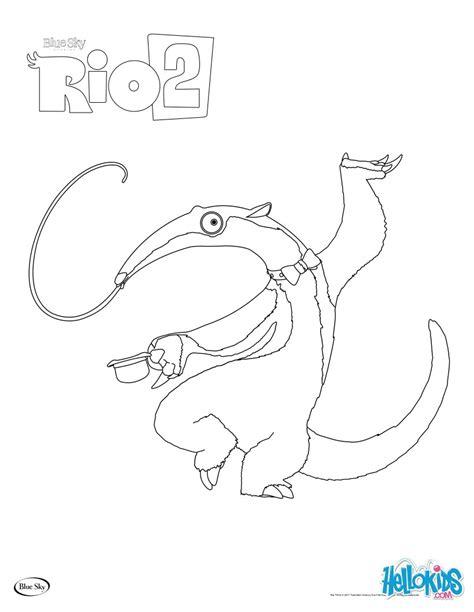 rio 2 charlie coloring pages hellokids com