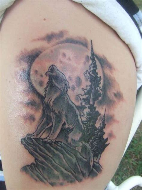 proud howling wolf head tattoo the 85 best wolf tattoos for improb