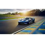 Wallpaper Ford GT 2017 Cars Race Track 4K