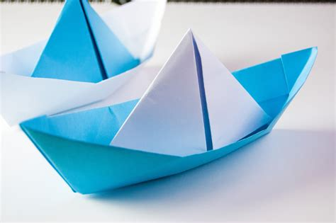 Paper Boats - how to make origami boat