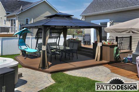 un patio patio design construction design de patios pour un spa