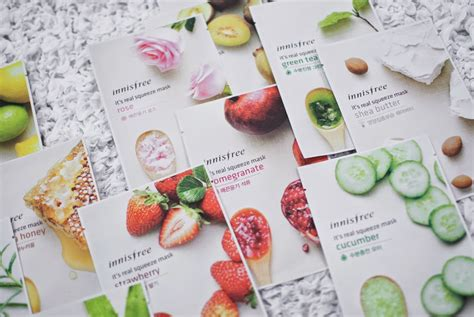 Innisfree My Real Squeeze Mask 100 Original 1 innisfree it s real squeeze mask haul preview