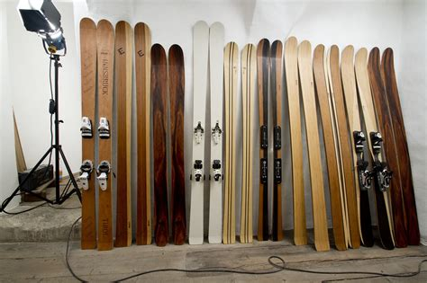 Handmade Skis - exoticskis list of small and independent ski and