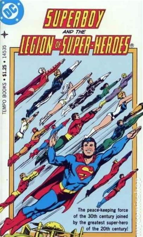 the legion book 1 books superboy and the legion of heroes pb 1977 tempo