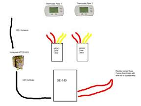 honeywell zone valve wiring diagram i got the manual for the wiring and looked real but