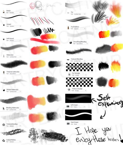 sketchbook pro brushes catnip s sketchbook pro brushes by cat nipp on deviantart