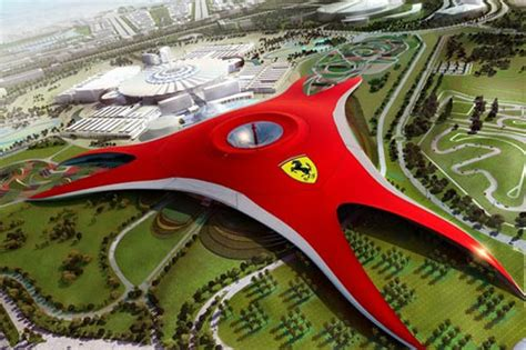 Ferrari Abu Dhabi Achterbahn by Ferrari World Abu Dhabi Achterbahn Freizeitpark De