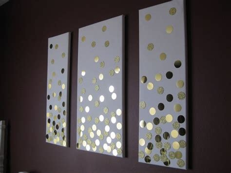 diy wall art bedroom diy confetti wall art for bedroom this could be really easy with giant sequins diy