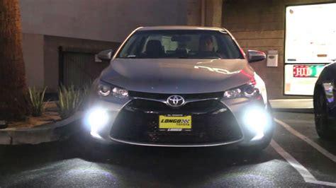 iJDMTOY Toyota Camry LED Daytime Running Lights/LED Turn