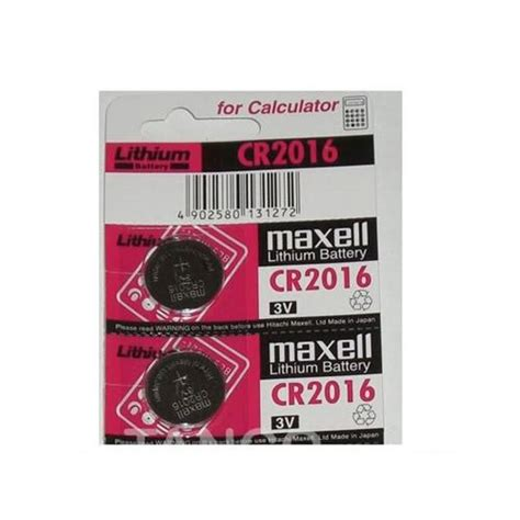 Batere Cr 2016 Maxell Lithium Kancing Cr2016 Cr 2016 Mobil 2 x maxell cr2016 2016 3v lithium scales batteries ebay