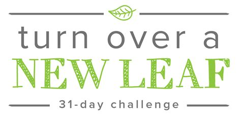 the 31 day workforce turnaround one month to a happier you and a more productive crew books turn a new leaf 31 day challenge giveaway contest
