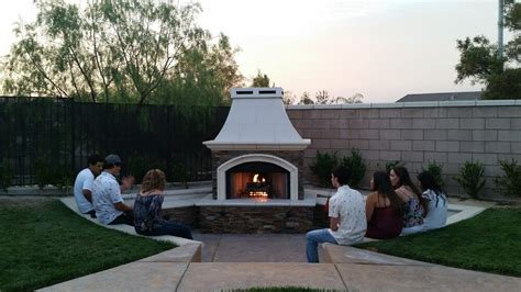 extreme backyard designs custom fireplaces extreme backyard designs