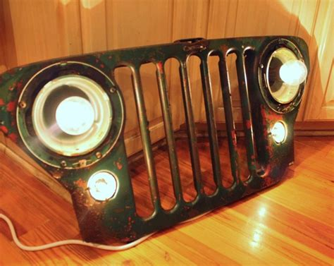 jeep grill art wheelingear 1952 m38 authentic military jeep grill