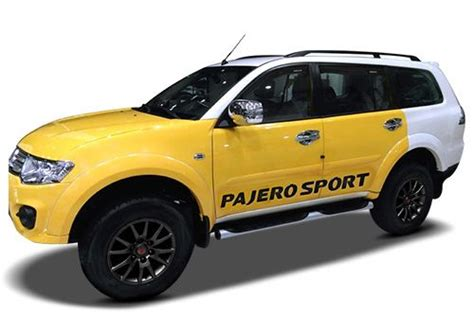 white mitsubishi sports car mitsubishi pajero sport grey color pictures cardekho india