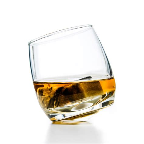 whiskey glass sagaform rocking whiskey glasses shop tableking