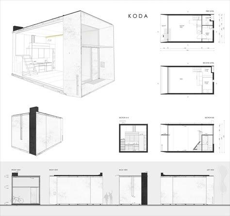 Micro Homes Floor Plans gallery of koda kodasema 15