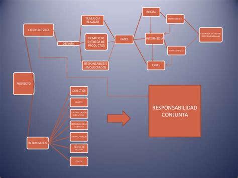 mapa conceptual cap 1 gerencia de proyectos udes