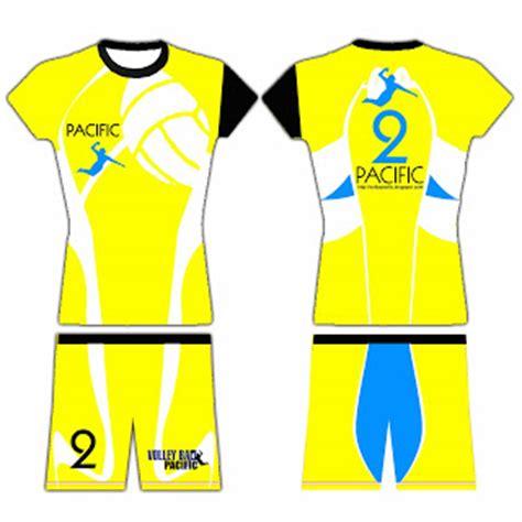 desain baju putri voli pacific volley ball club bekasi desain kaos pacific