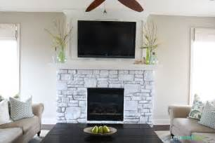 the gallery for gt painted white fireplace