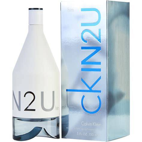 Launch Of Calvin Kleins New Fragrance In2u by Ck In2u Eau De Toilette For Fragrancenet 174