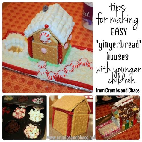 gingerbread houses recipe children graham crackers  bundt cakes