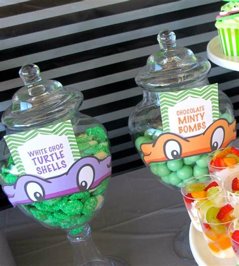 kara s party ideas teenage mutant ninja turtles themed