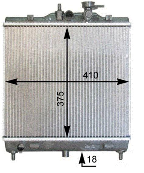 Radiator Kia Picanto kia picanto car radiator replacement radiators from adrad