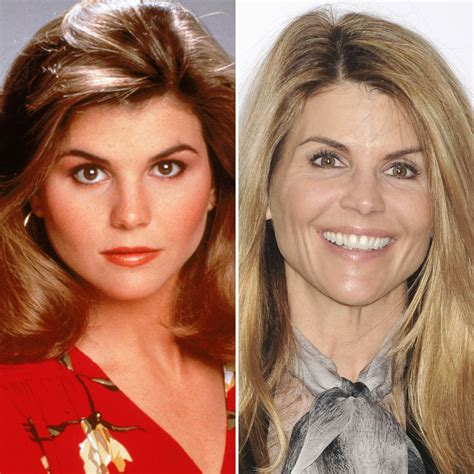 lori loughlin now and then it s lori loughlin s 52nd birthday see the cast of full