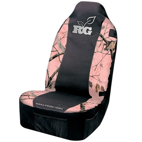 pink camo seat covers set pink realtree camo realtree 174 camo seat cover