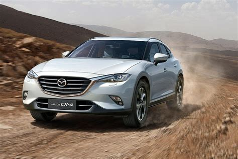 mazda in sporty mazda cx 4 debuts in china for market only