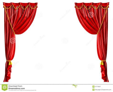 teatro tende a strisce cortina realista teatro imagen de archivo imagen