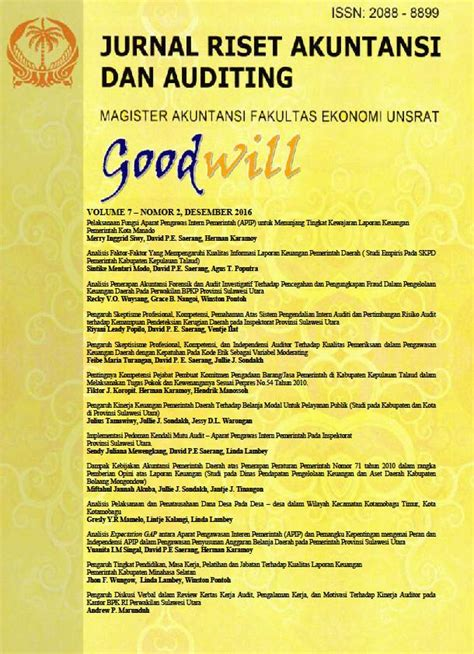 Buku Remember Us Oleh Ideafina jurnal riset akuntansi dan auditing quot goodwill quot