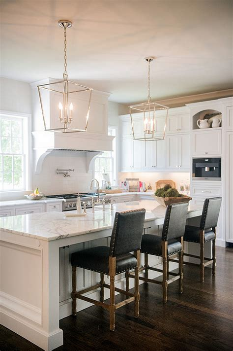 White Kitchen Lighting Interior Design Ideas For Your Home Home Bunch Interior Design Ideas