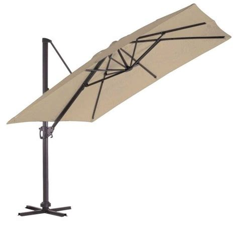 Parasol Rectangulaire Deporte Inclinable by Parasol D 233 Port 233 Pas Cher R 233 Ctangulaire Inclinable