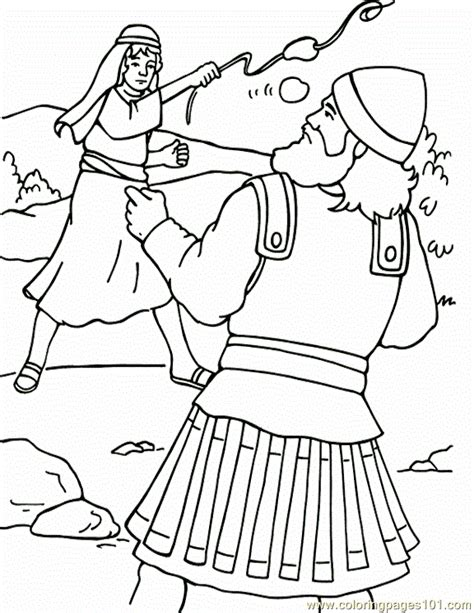 coloring book vs tlop david and goliath coloring pages coloring home